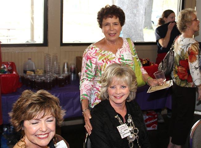 Kay Russell, Karen Mountcastle, Marsha Essex Marino