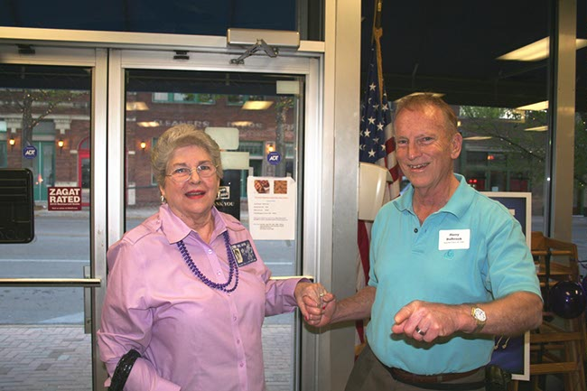 Lynn Terrell Gafford and Harry Bulbrook