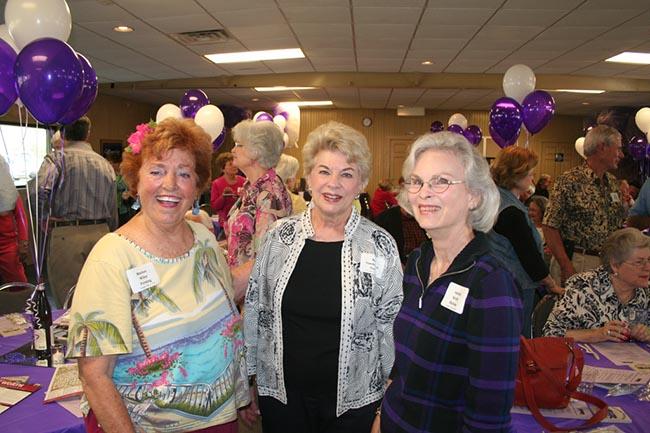 Marion Wiley Fersing, Kay Vanderpool Gunn, Amelia Kerby Haltom