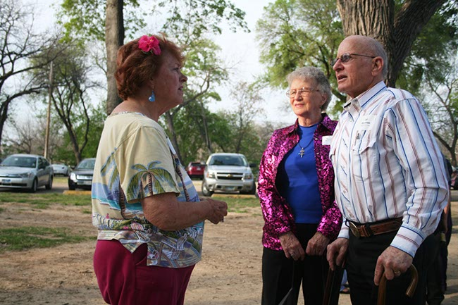 Marion Wiley Fersing, Patsy and Ray Eitelman