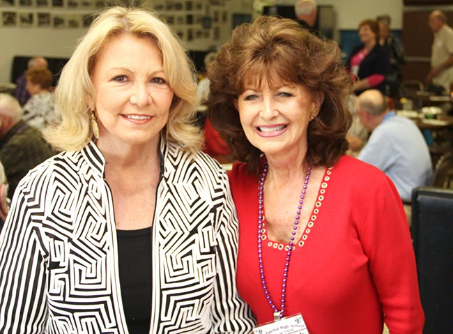 Wanda Cunningham Walker and Beverly Burmeister Hanson