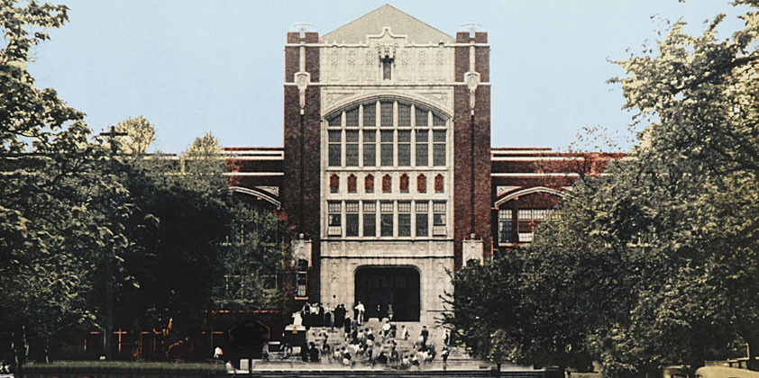 R. L. Paschal High in the '30s