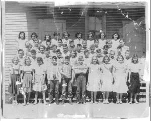 1949 - '50 6th Grade Class of Miss Orlena McKenna
