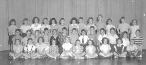 1945 - '46 2nd Grade Class of Miss Agnes Christenberry