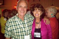 Bill Frost and Beverly Burmeister Hanson (in background on left is Suzy Smith Williams PHS'55; on right is Norma Baumgardner Brown)