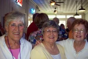 Carolyn Hardgrove Summers, Bobye Balch Newman, Marilyn McCully Gordon