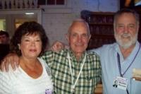 Freddie, Bill, and Morton--Friday evening at Dutch's