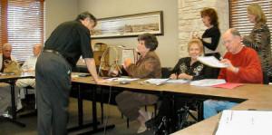 Bill Frost, Bobby Tyler, Bobby Kinney, Marlene Floyd, Judy Harris, Beverly Burmeister, Jerry Brooks and Wanda Cunningham
