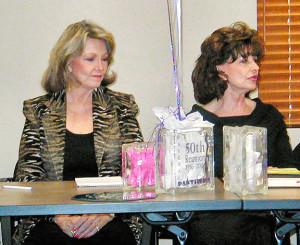 Wanda Cunningham and Beverly Burmeister