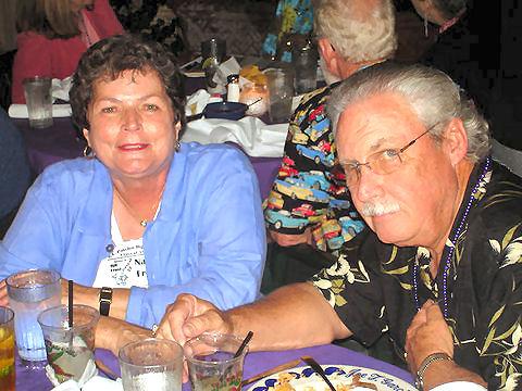 Nancy Crenshaw Frost '57, Arthur Baird '56