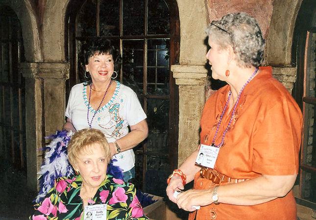 Freddie Garrison McNeel, Judy Harris Staser & Anna Lee Aston Swan