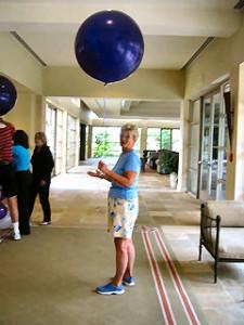 "Gail Peterson Teig - Holding the ""Trial"" Balloon!"