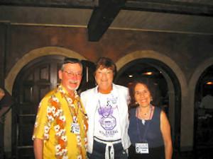 Harold Dean, Beverly Jones Spencer and Jeanette Rashti