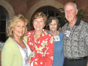 Martha Spain Rippy, Ludie Irvin Heineman, Gail Fues Dunaway, Jimmy Patterson