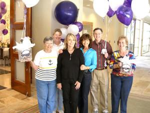 Patty Williams Bulloch, Dare Harrison, Wanda Cunningham Walker, Beverly Burmeister Hanson, Burt Rakoover & Carolyn Forsyth Linton