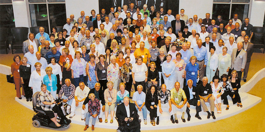 Class of 1956 R.L. Paschal High School Reunion Picture