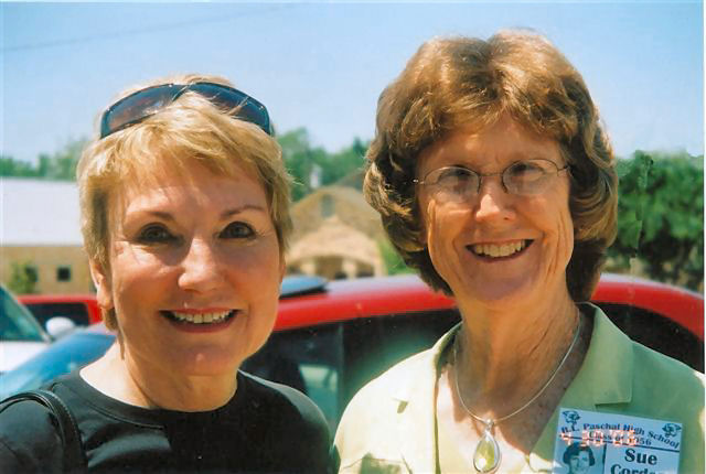 Sue Taylor Nordhaus and Sue Aaron