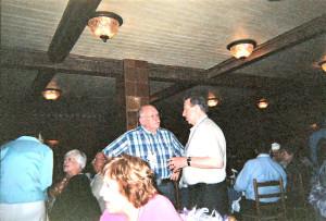 Tom Gebhard and Fred Foote