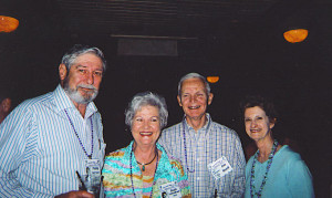 Phillip Harrison, Joan Tottenham Buell, Jim Buell and June Massengale Berry