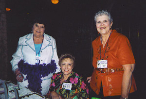 Marlene Floyd Whitfill, Judy Harris Staser and Anna Lee Aston Swan