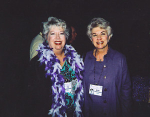 Pat Kirkwood Harris and Kay Vanderpool Gunn