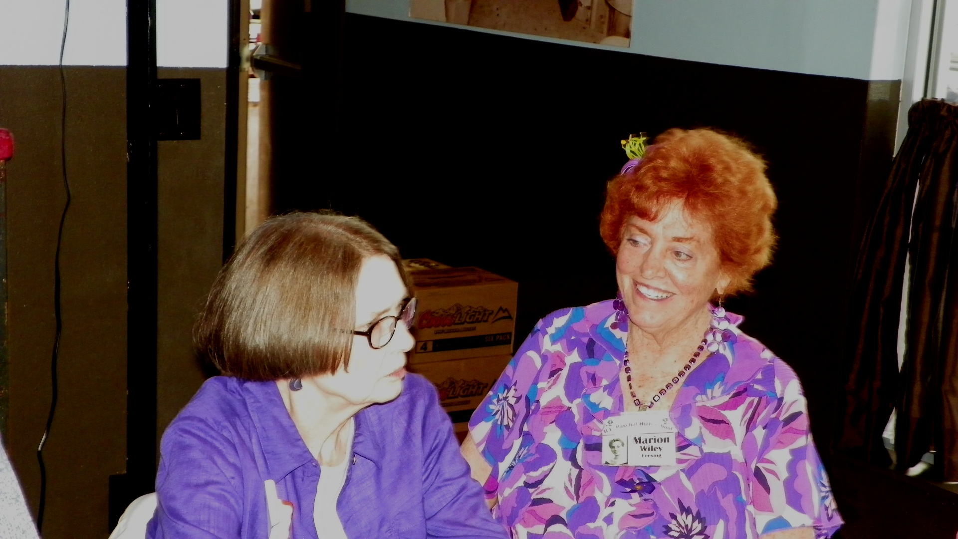 Sue Coffman and Marion Wiley Fersing