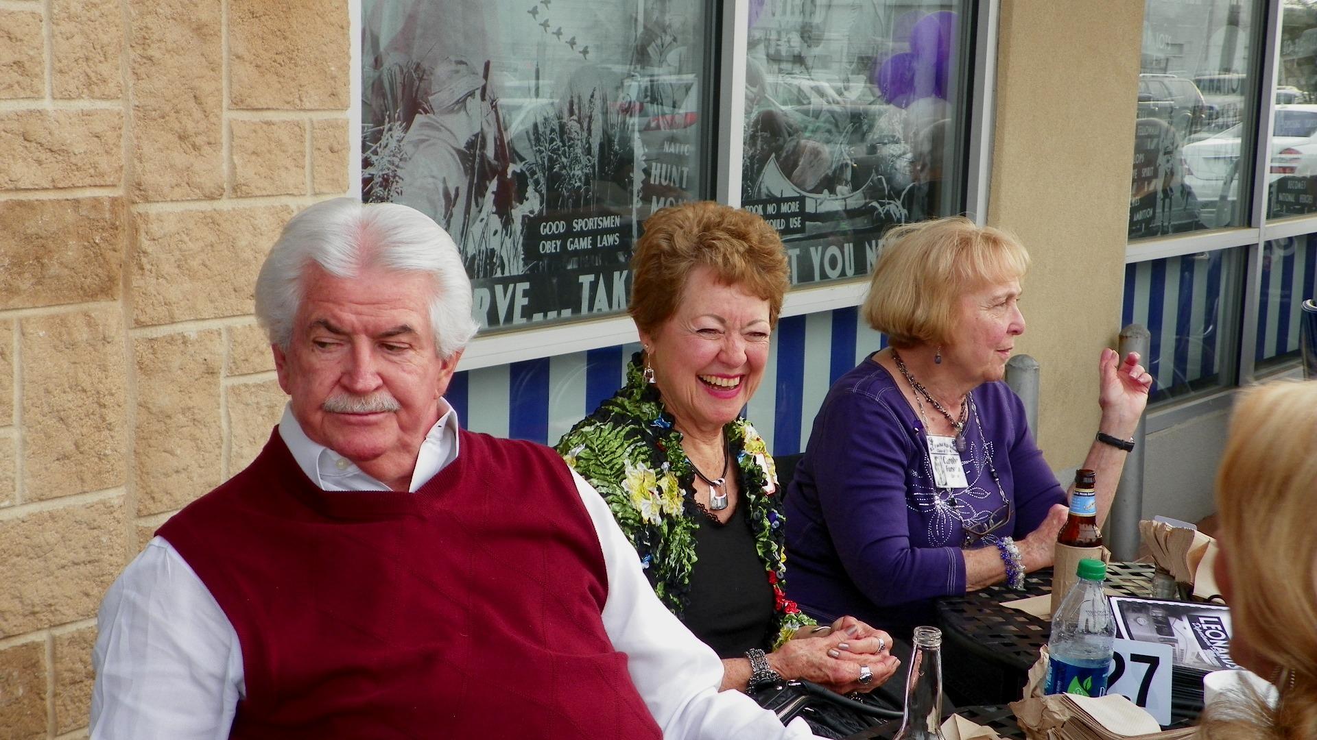 Nancy Hankins Swan, Carolyn Forsyth Linton
