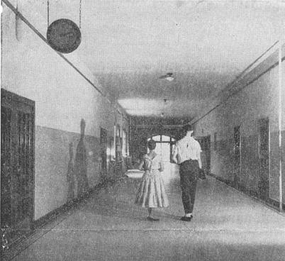 Old School Hallway