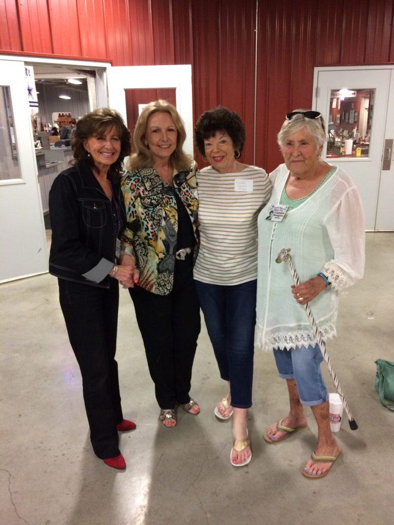 Beverly Burmeister Hansen, Wanda Cunningham Walker, Freddie Garrison McNeel, Carolyn Hardgrove Summers