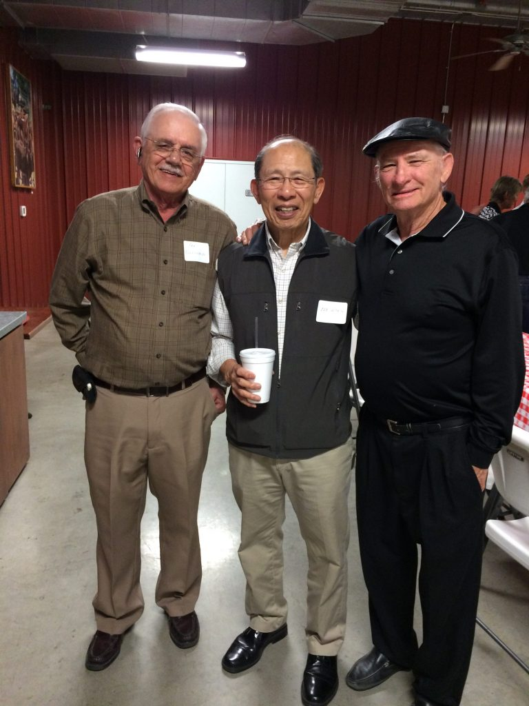 Ron Brookshire, Lee Wong, Don Delp