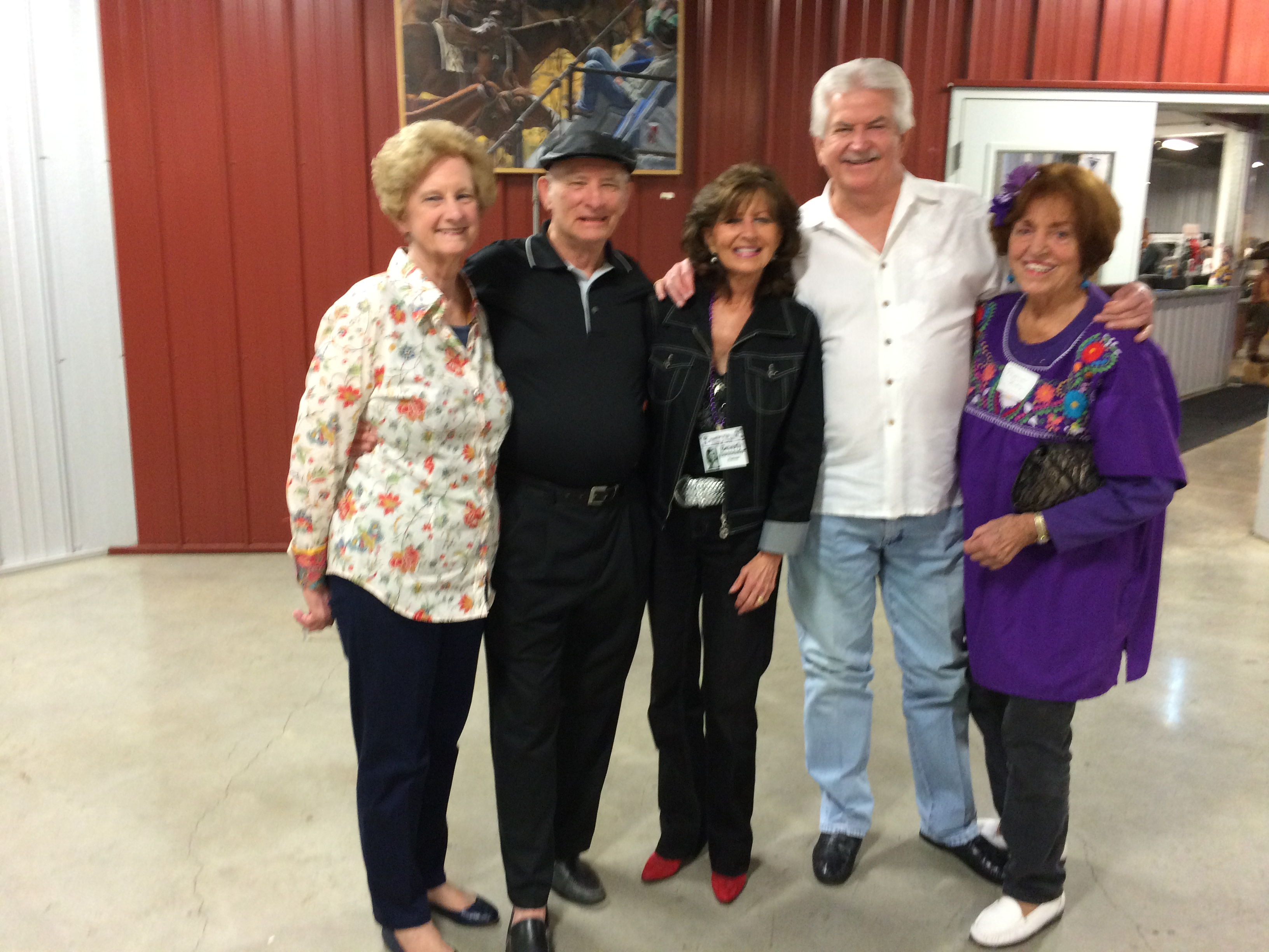 June Massengale Berry, Don Delp, Beverly Burmeister Hansen, Ken Dick, Marion Wiley Fersing