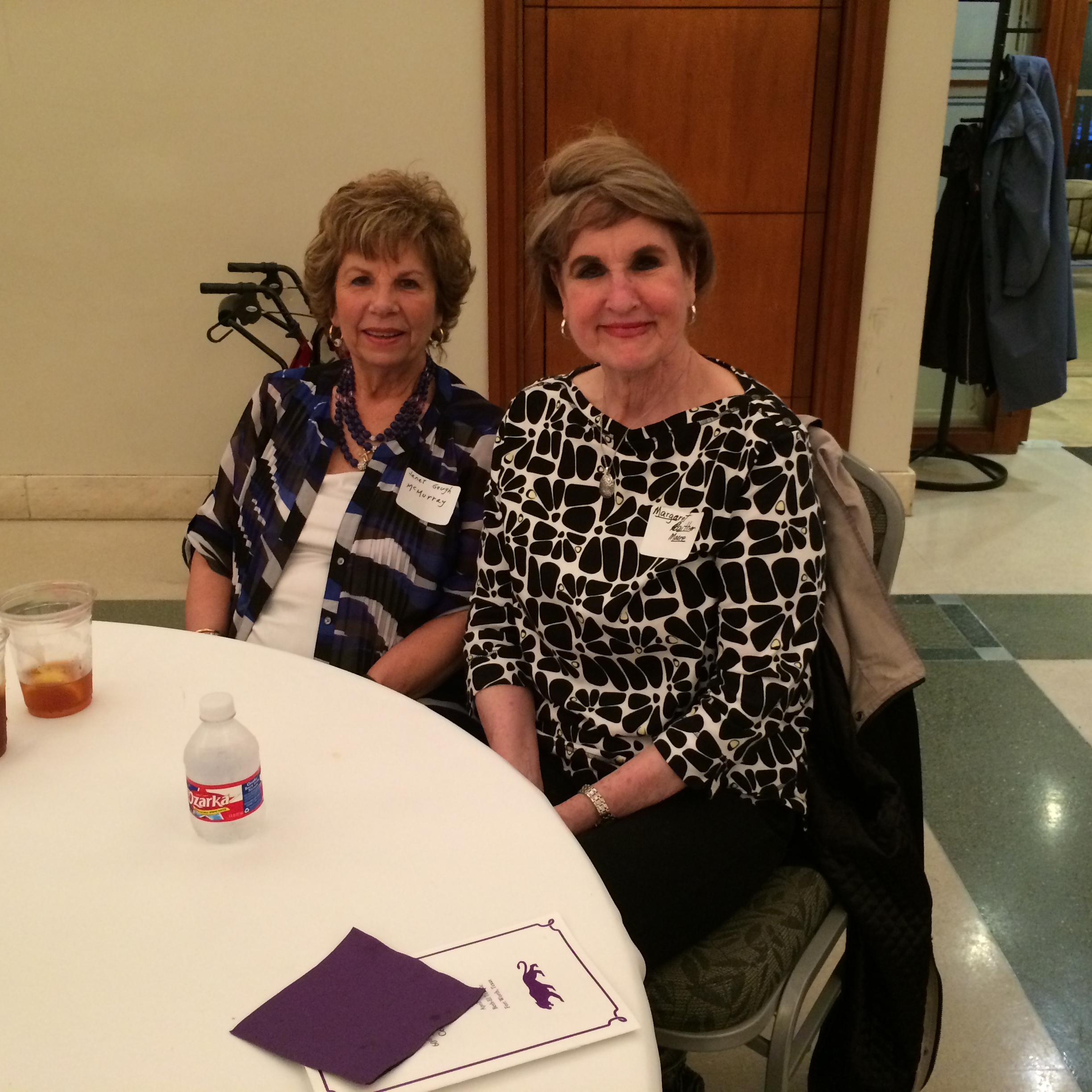 Janet Gough McMurray and Margaret Gaither Moore