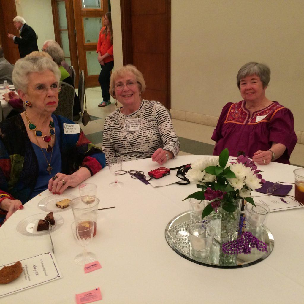 Frankie Norcross Russell, Carolyn Forsyth Linton, Ann Chambers