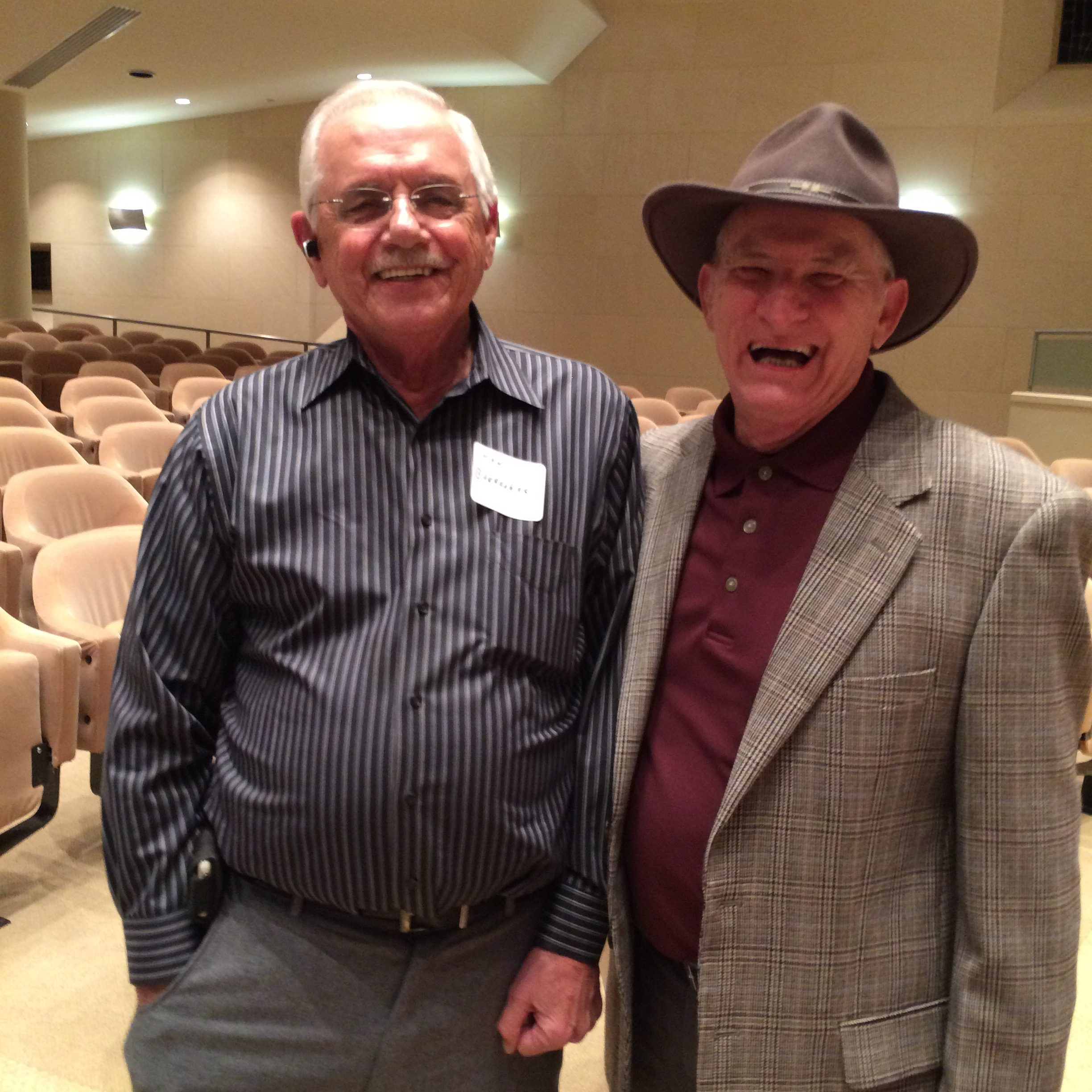 Ron Brookshire and Don Delp