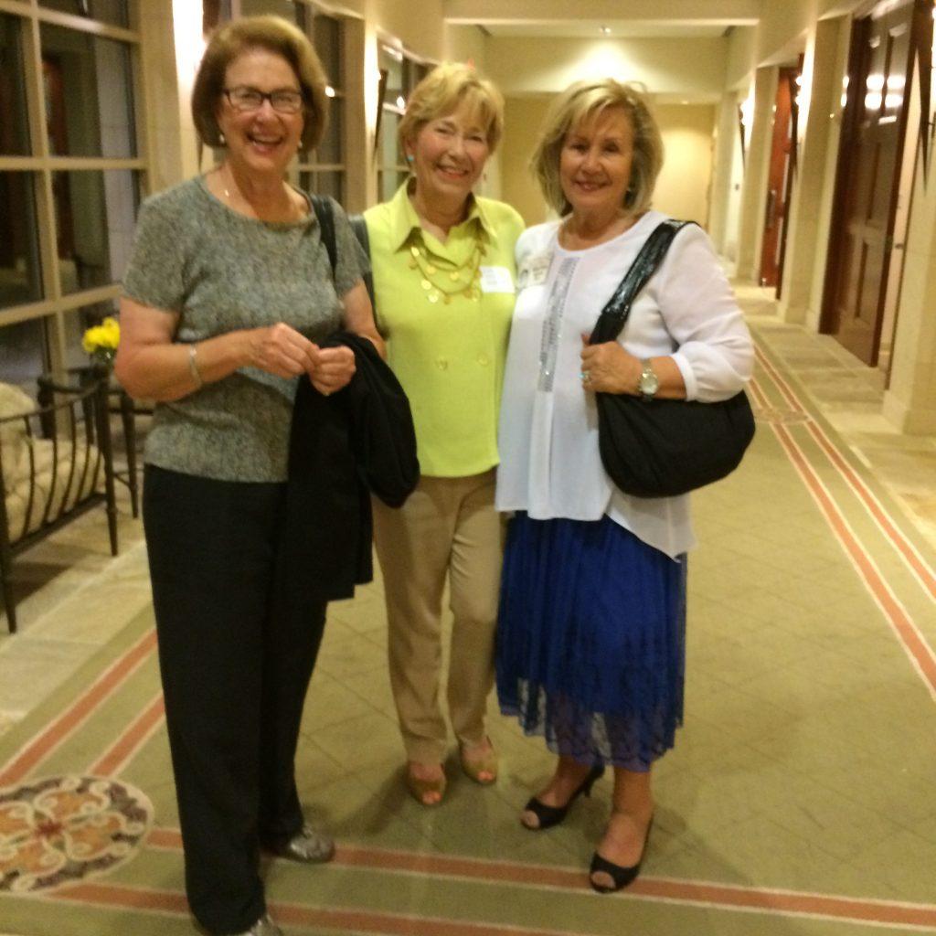Caroline Wood Jensen, Ludie Irvin Heilman, Martha Spain Rippy