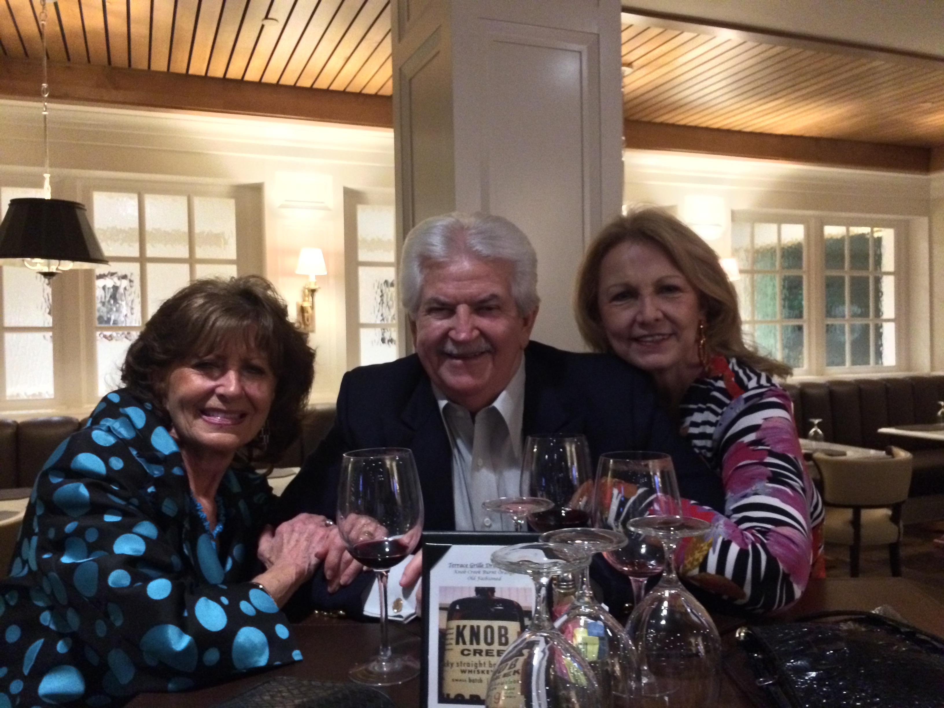 Beverly Burmeister Hansen, Ken Dick, Wanda Cunningham Walker