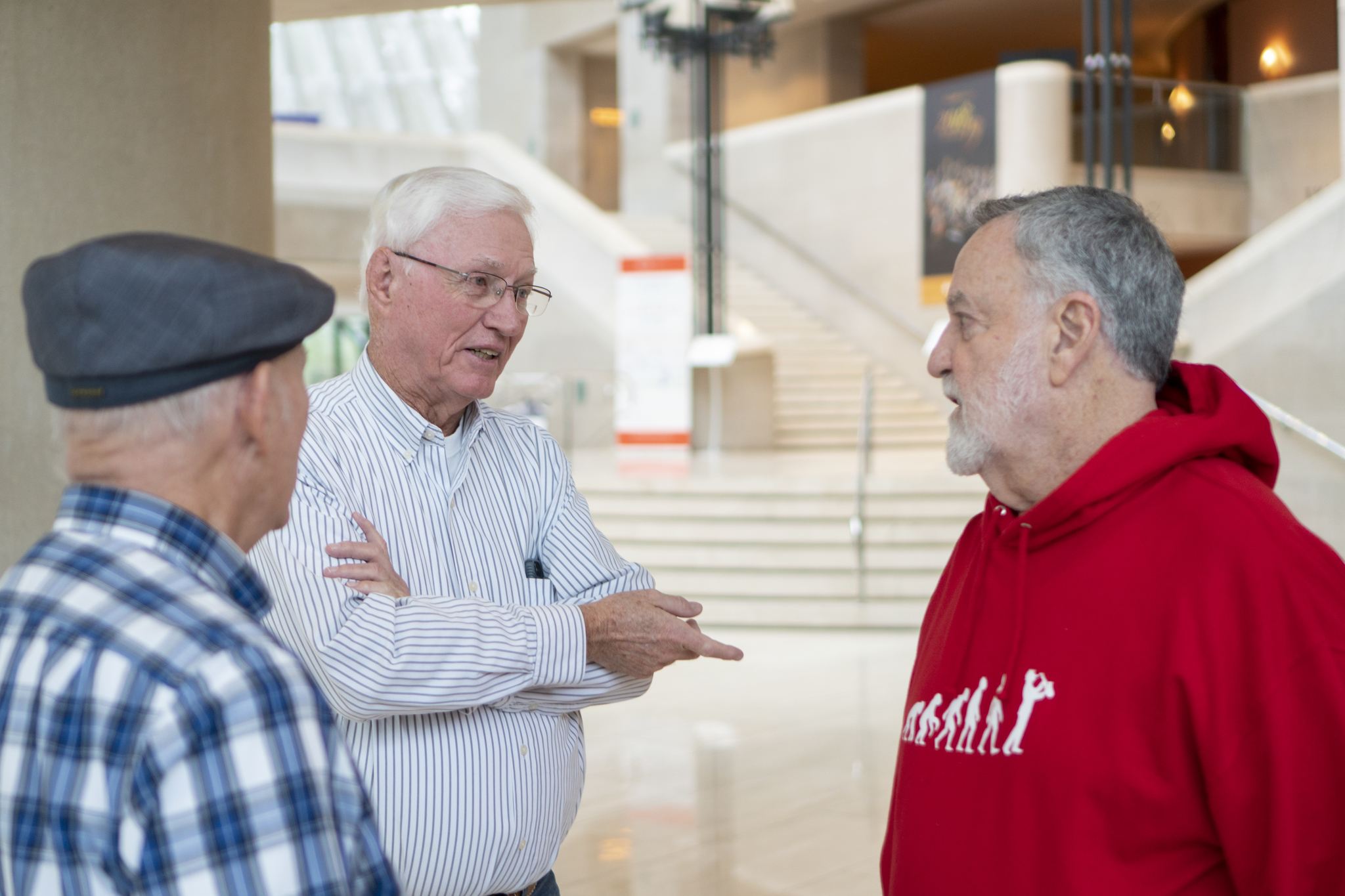 Don Delp, Jimmy Jobe, Morton Meyerson