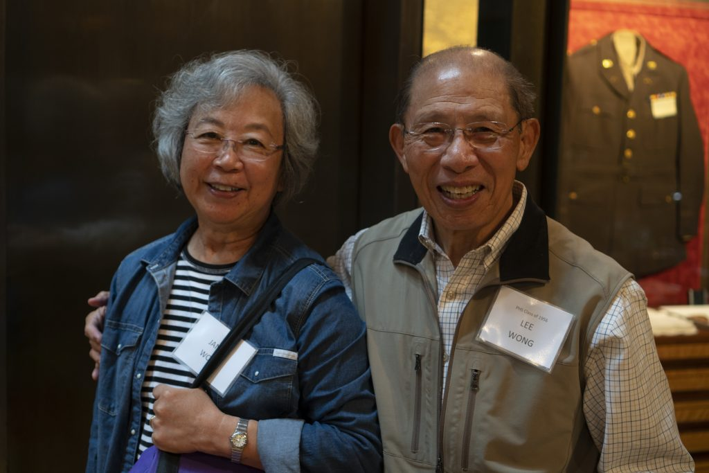 Janet and Lee Wong