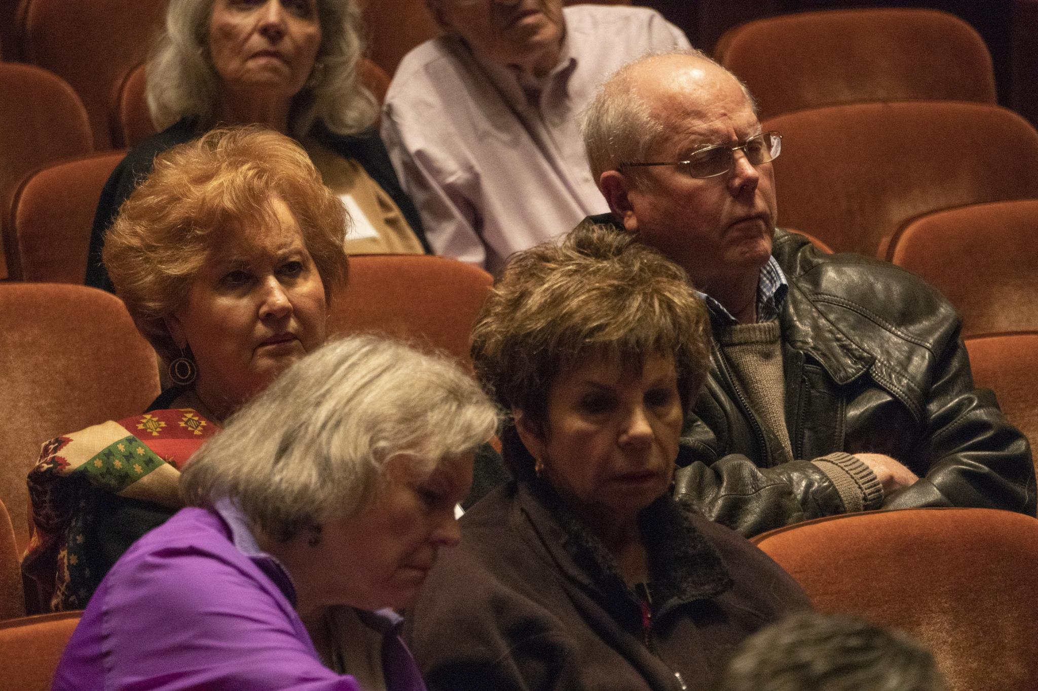 (center) Kathy and Richard Stevens
