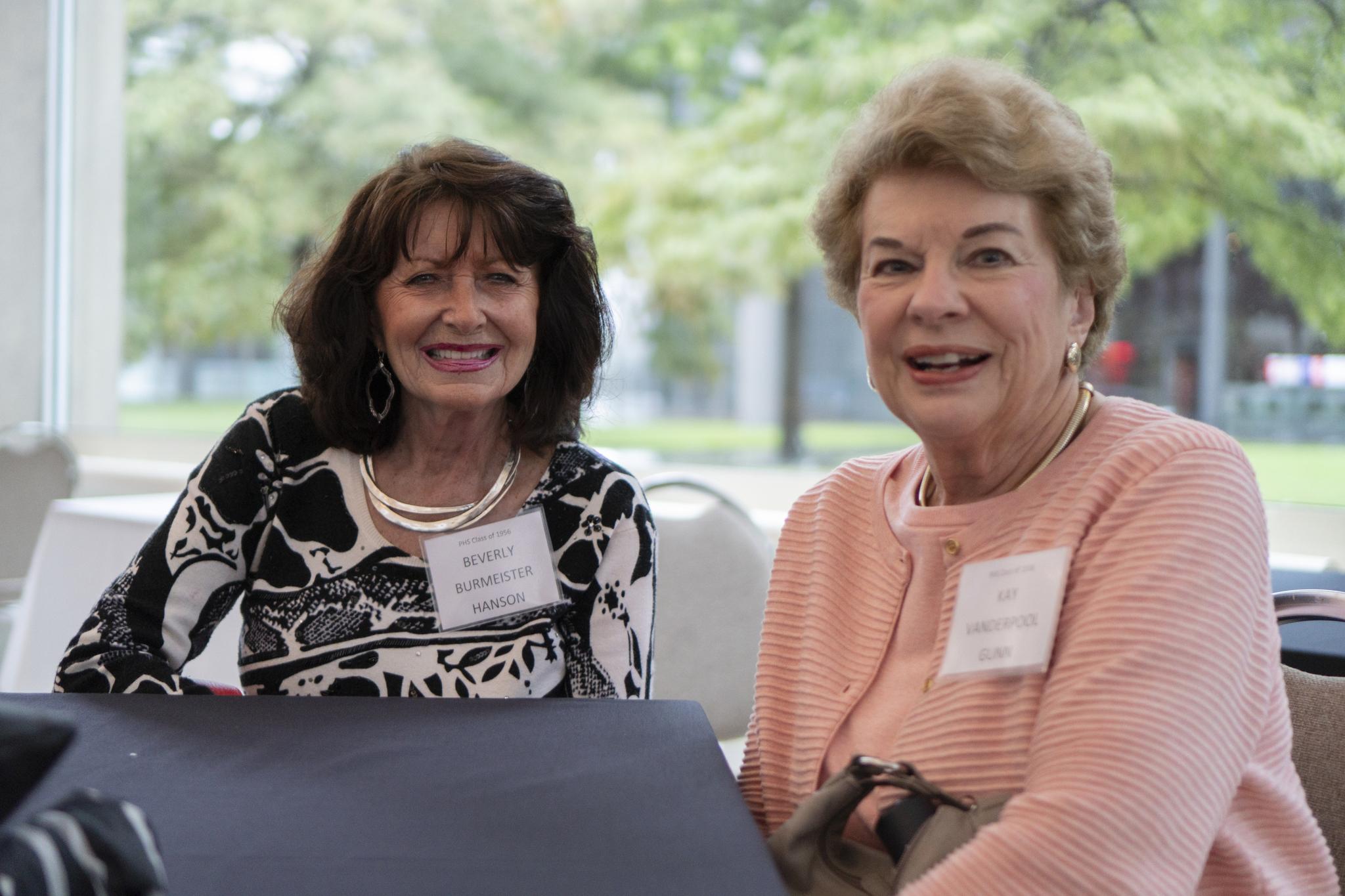 Beverly Burmeister Hanson and Kay Vanderpool Gunn