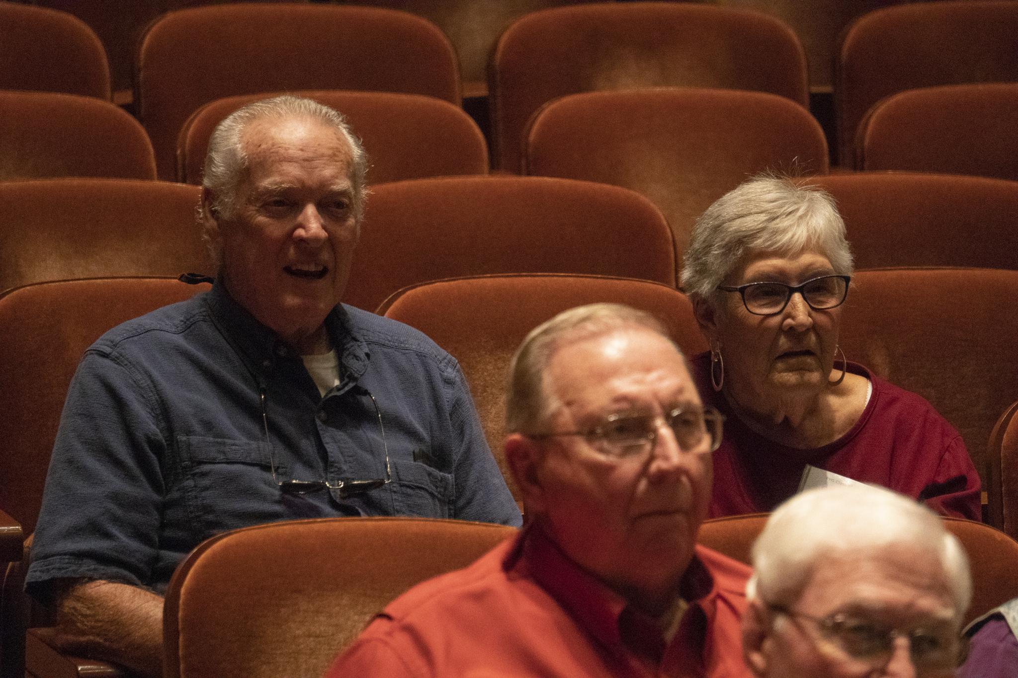 Ken Summers and Carolyn Hardgrove Summers; (center) Al Cochran