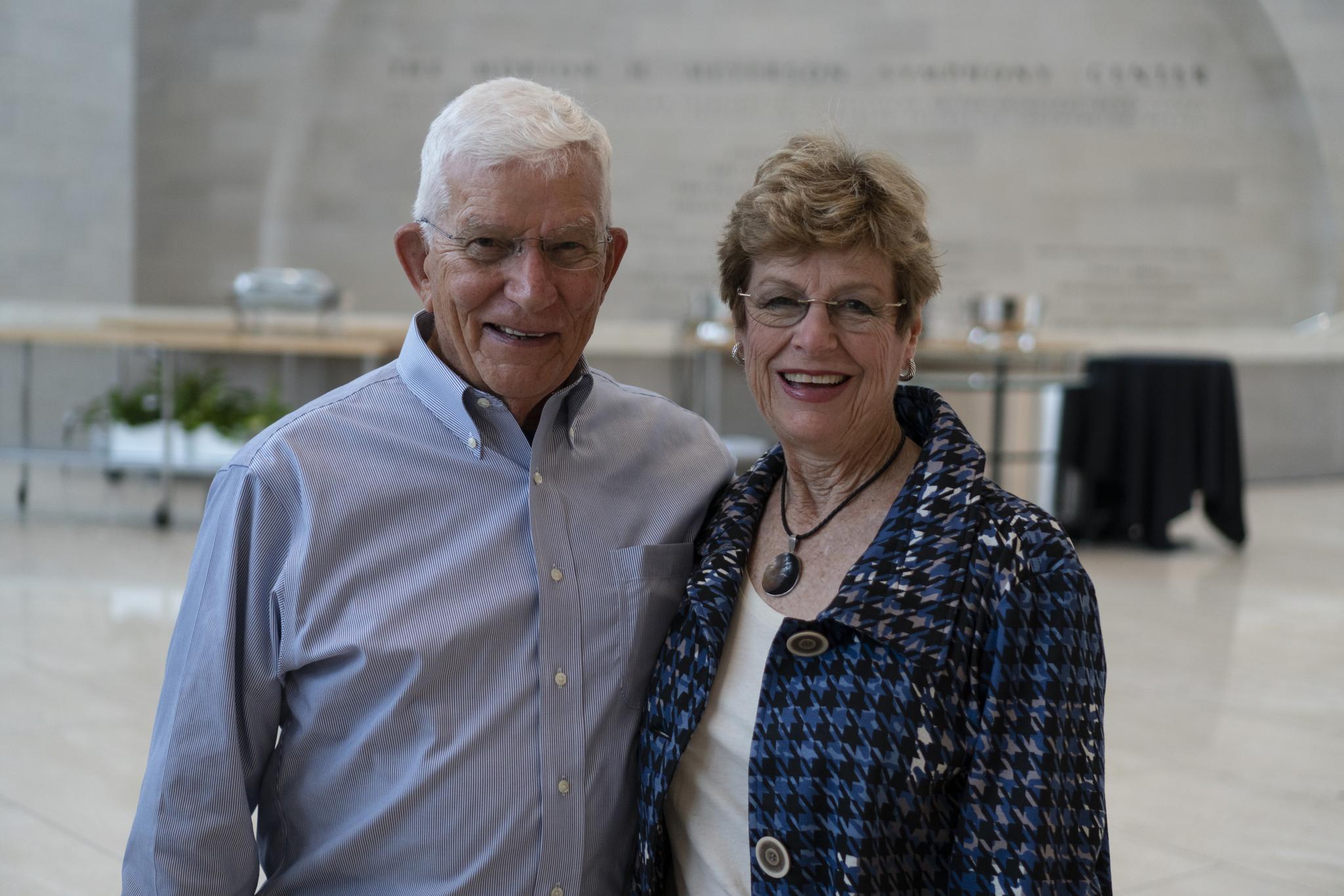 Bill Travis and Jane Mooney Travis