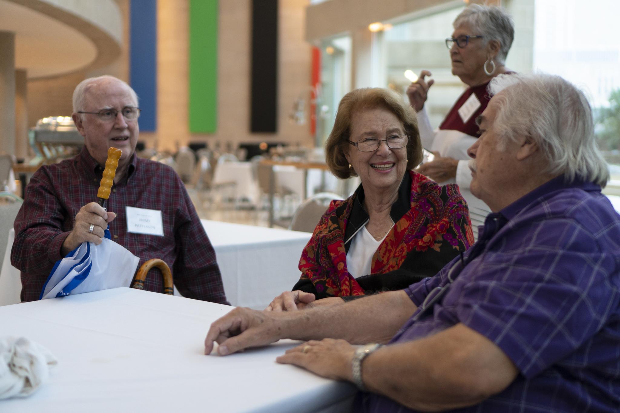 Jimmy Patterson, Caroline Wood, Joe Gilleland