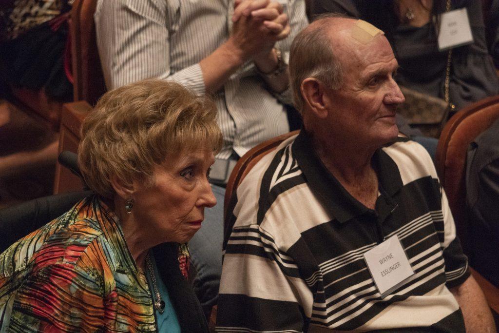 Judy Harris Staser and Wayne Esslinger