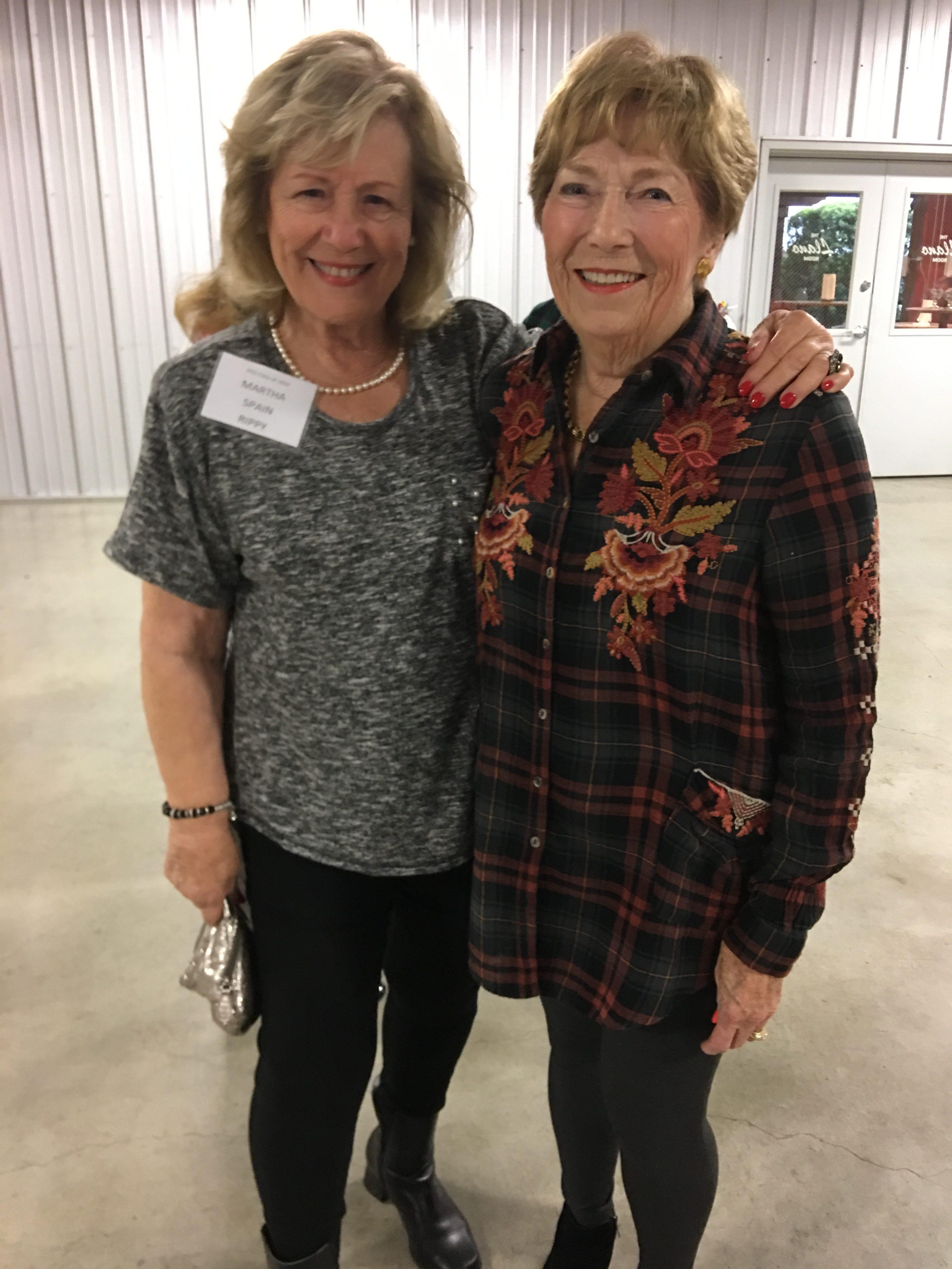 Martha Spain Rippy and Ludie Irvin Heineman