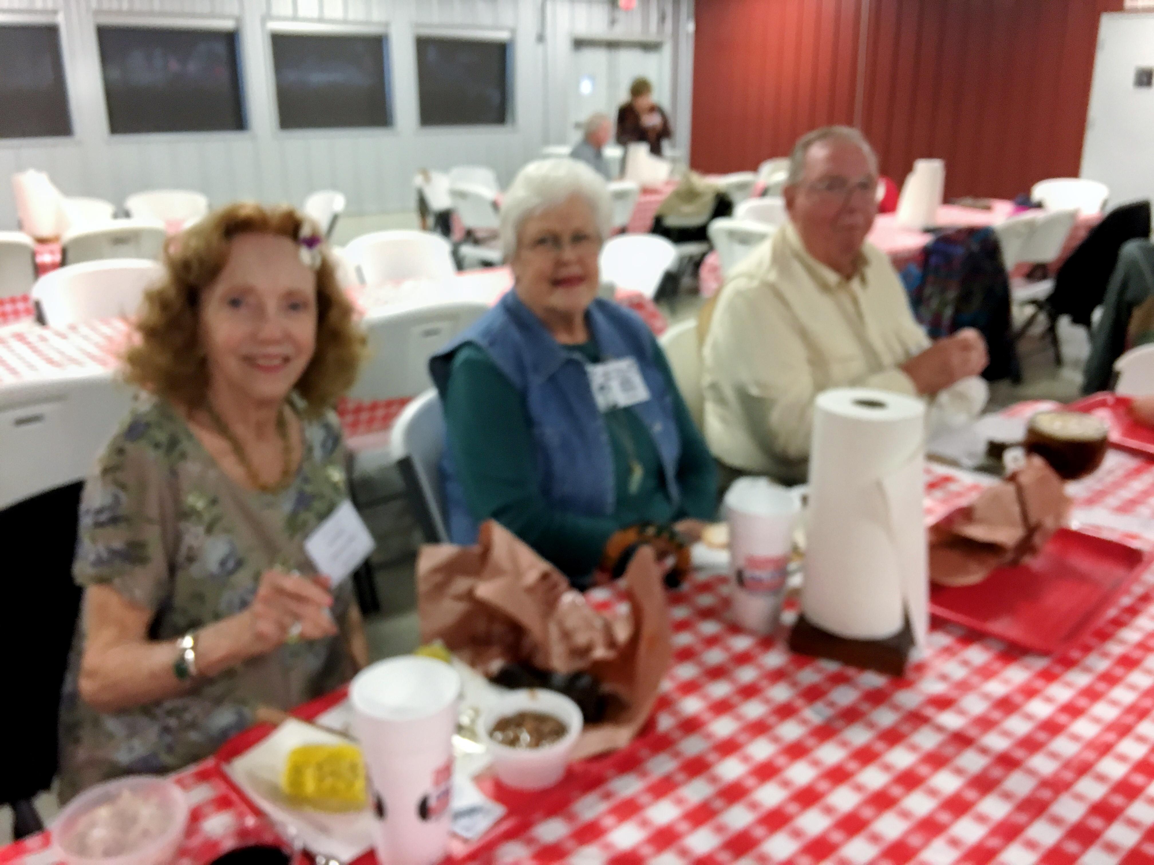 Donna Erdwurm Beard, Julie Tipton Cochran and Al Cochran