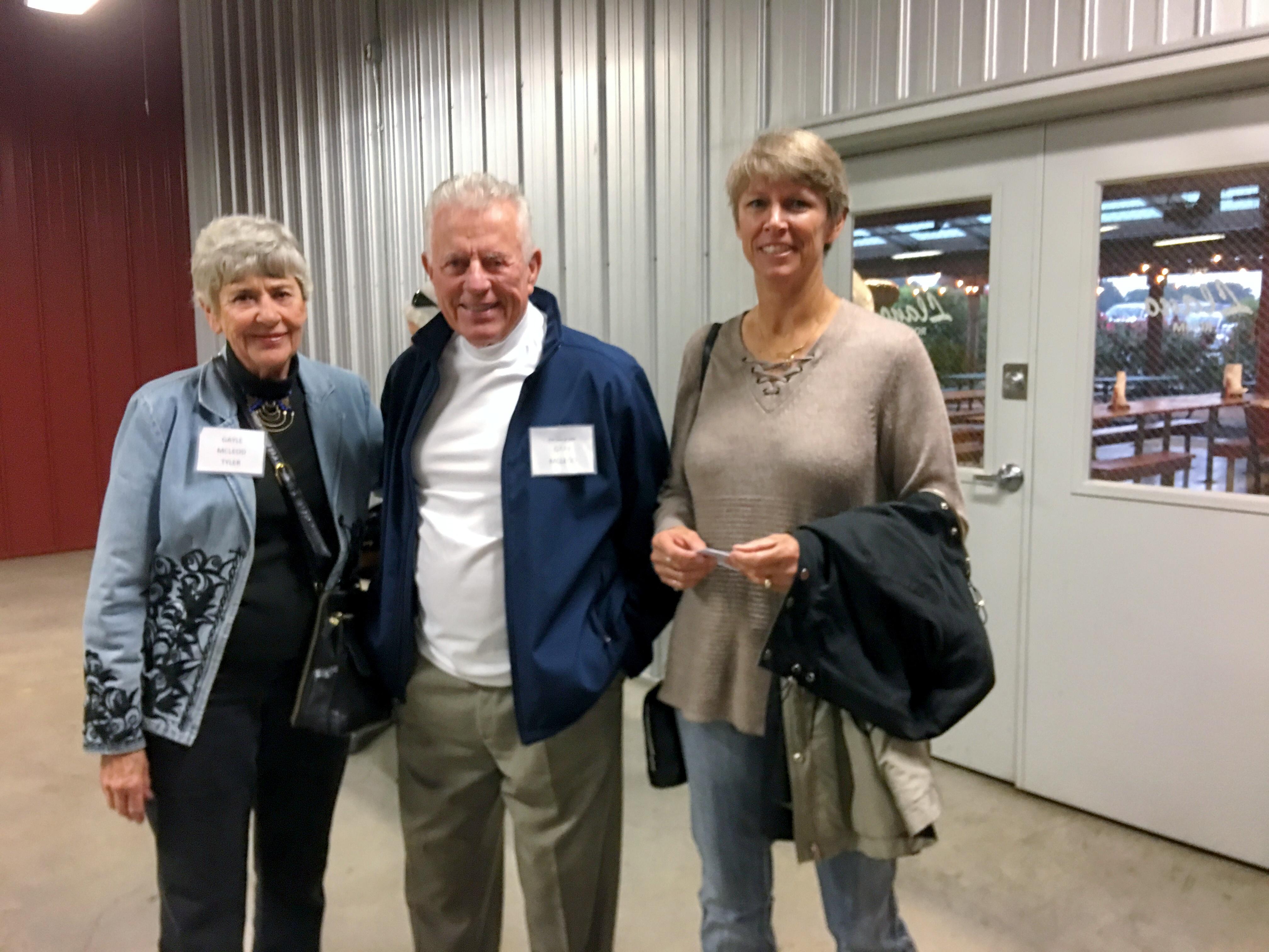 Gail McLeod Tyler, Gary and Julie McLeod