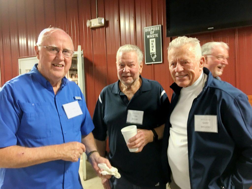 Jimmy Patterson, Dana Segler, Gary McLeod