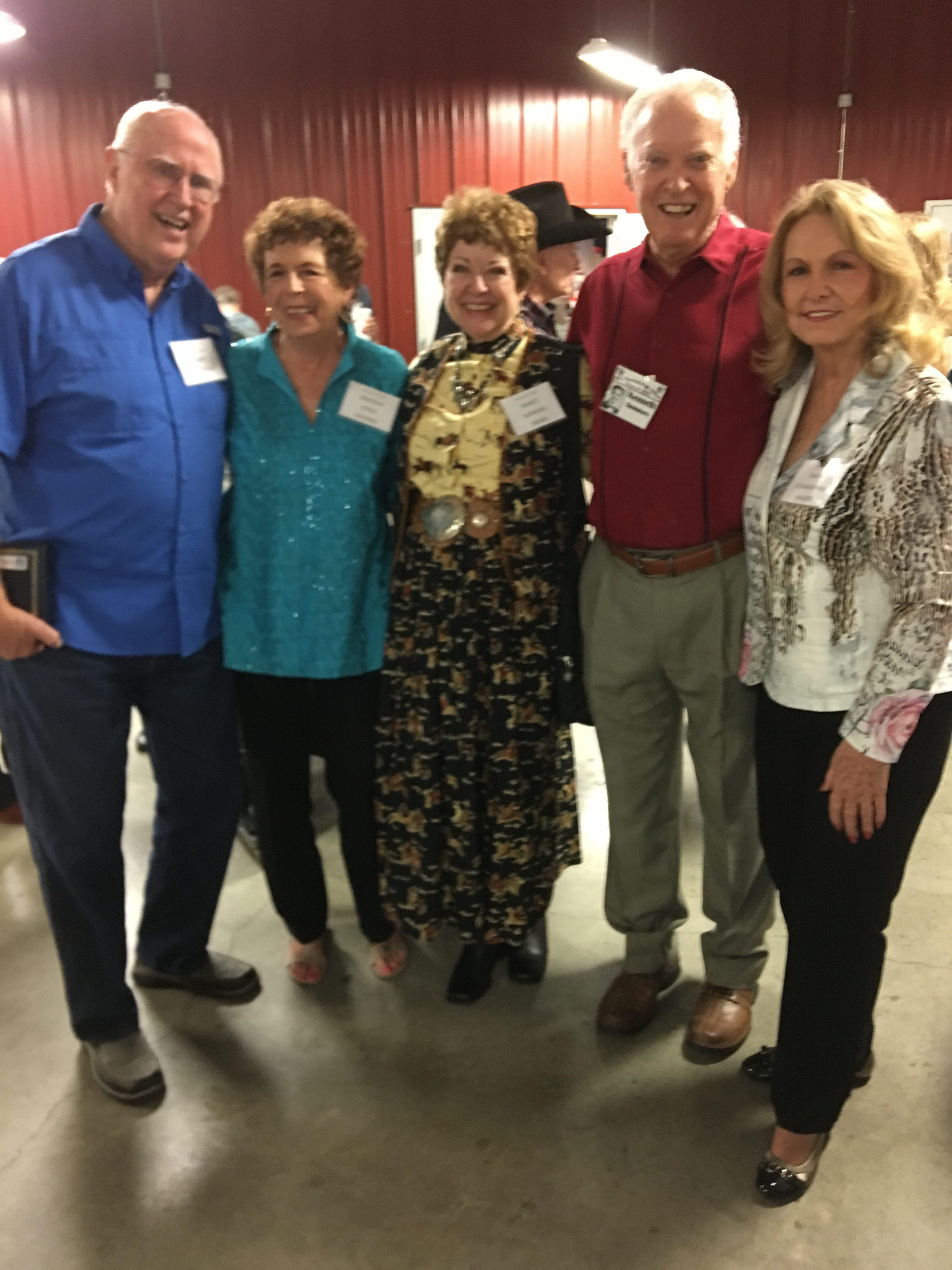 Jimmy Patterson, Marsha Essex Marino, Nancy Hankins Swan, Kenneth Summers, Wanda Cunningham Walker