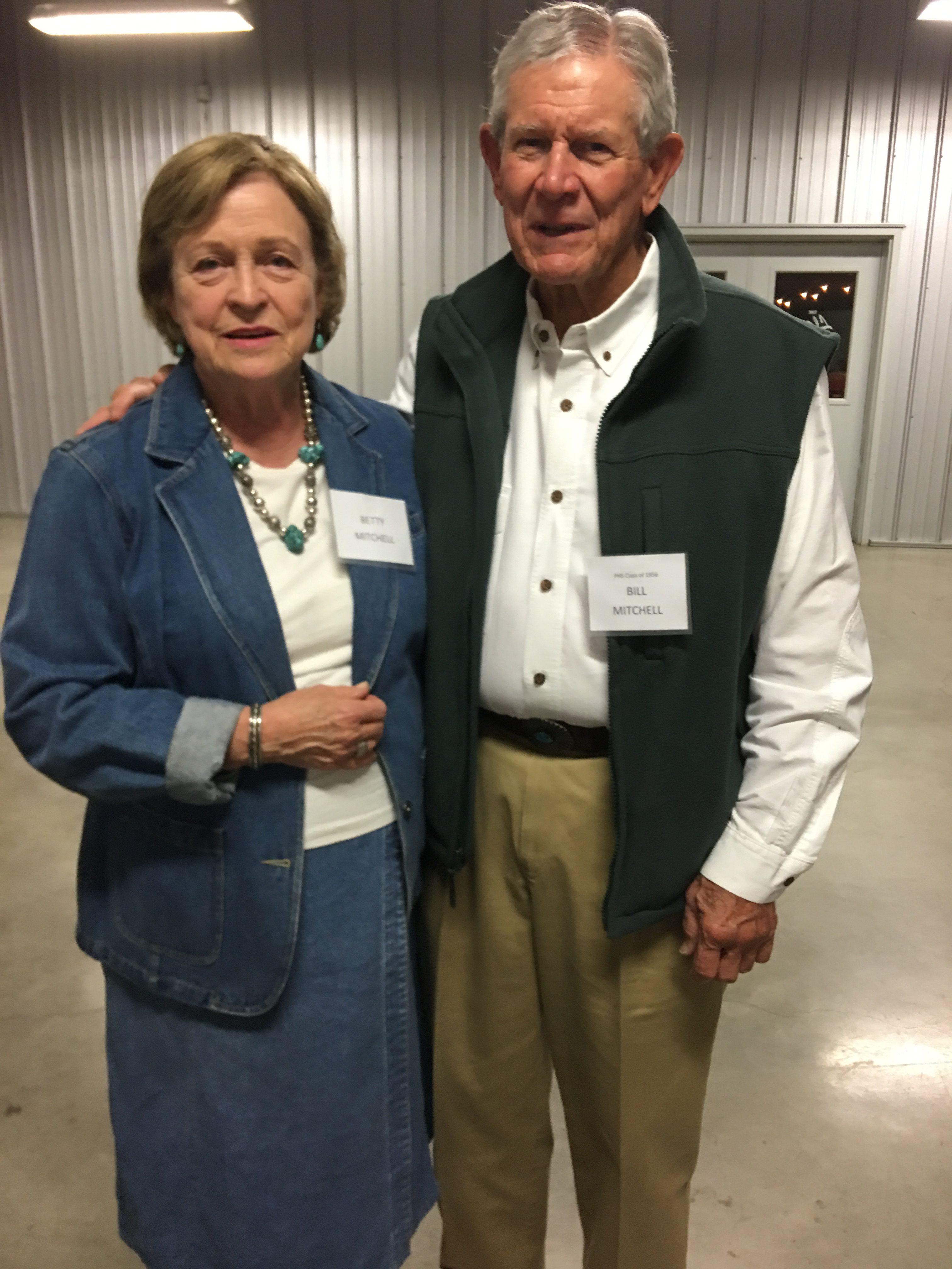 Betty and Bill Mitchell